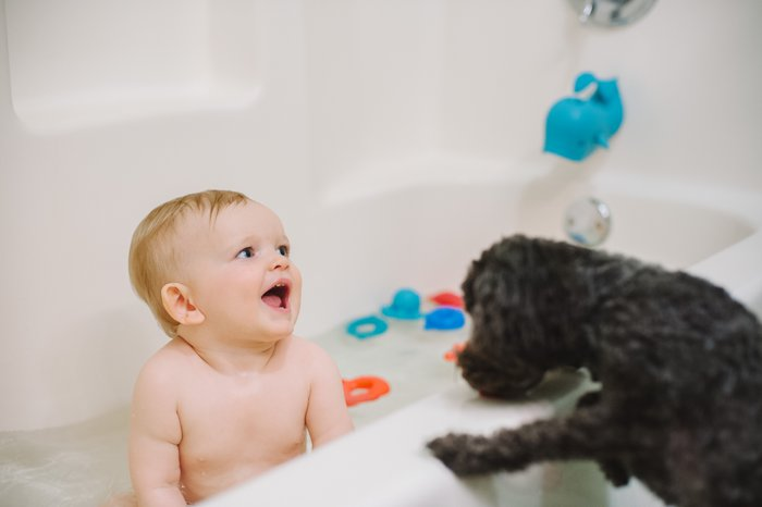 Bath Time Favorites | Nuby Bath Links | Product Review