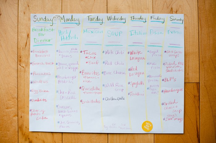 The Easy Meal Planning System that Changed Everything   I hate cooking   Meal Planning System Hack