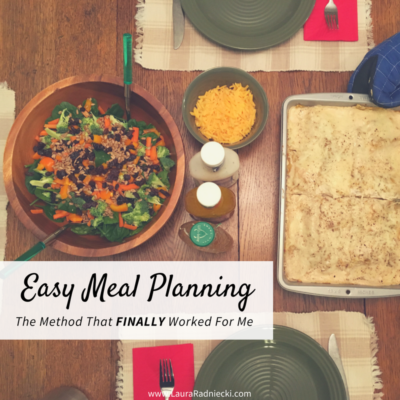 The Easy Meal Planning System that finally worked for me! - Easy Meal Planning Method - Simple Meal Plan