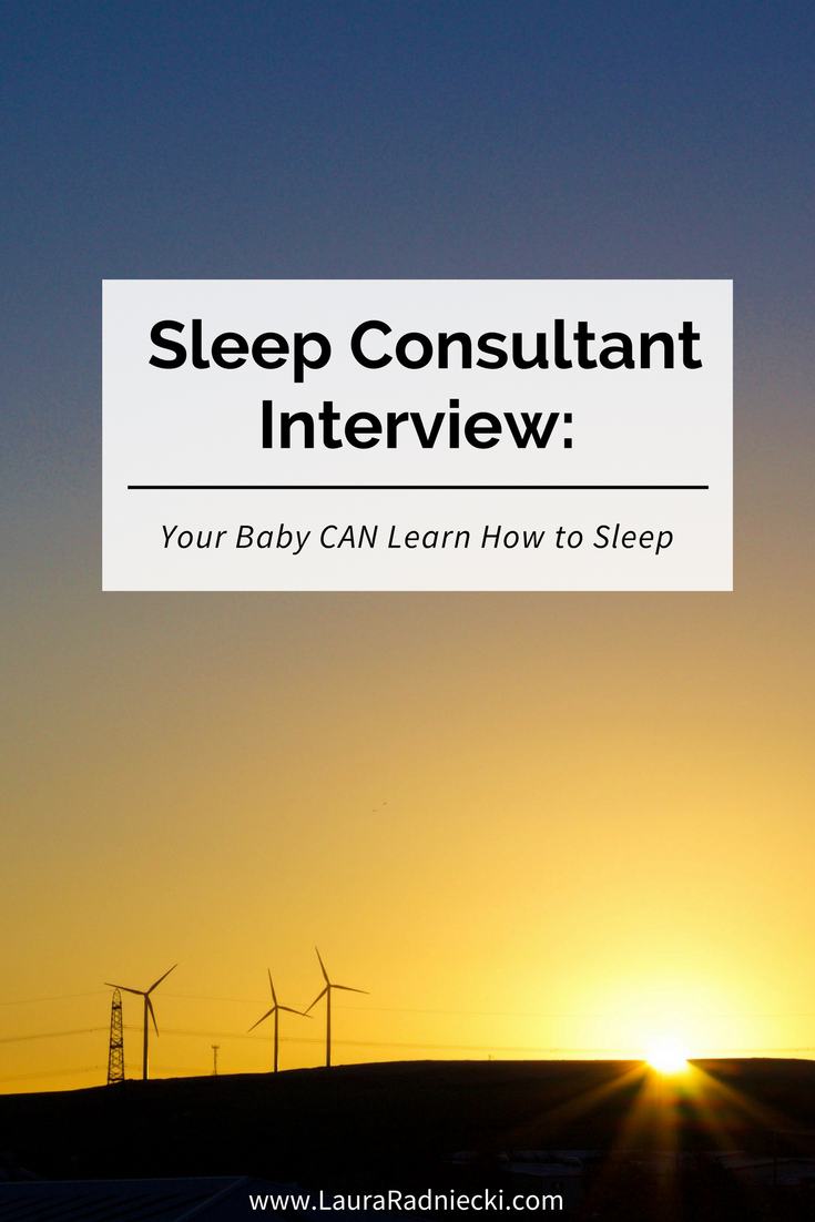 Your Baby Can Learn How to Sleep - A Sleep Consultant Interview - Pam of Wee Bee Dreaming Pediatric Sleep Consulting