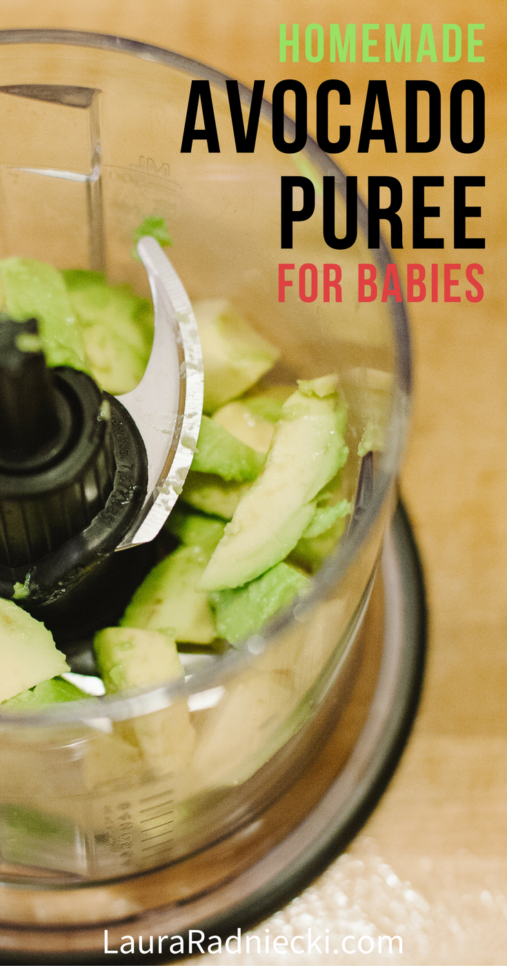Avocados are one of today's best superfoods! They're also an awesome food for babies. Here are simple, easy instructions for making your own homemade baby food puree using avocados with this baby food recipe!