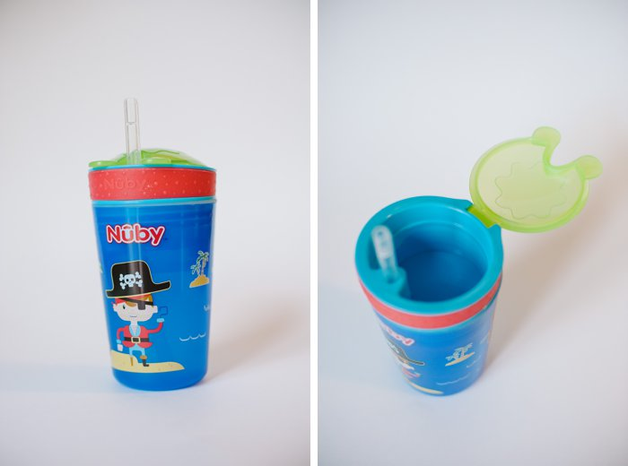Spring has sprung! | Nuby Fruitsicles Popsicles and Snack N' Sip Cup | Product Reviews by Laura Radniecki