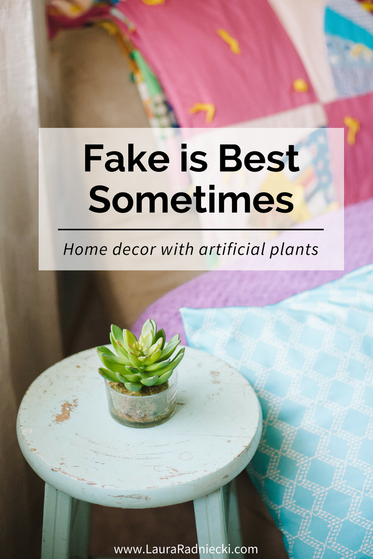 Fake is Best Sometimes - Home Decor with Artificial Plants - Fake Plants Product Review from Silk Plants Direct and HedgeScapes