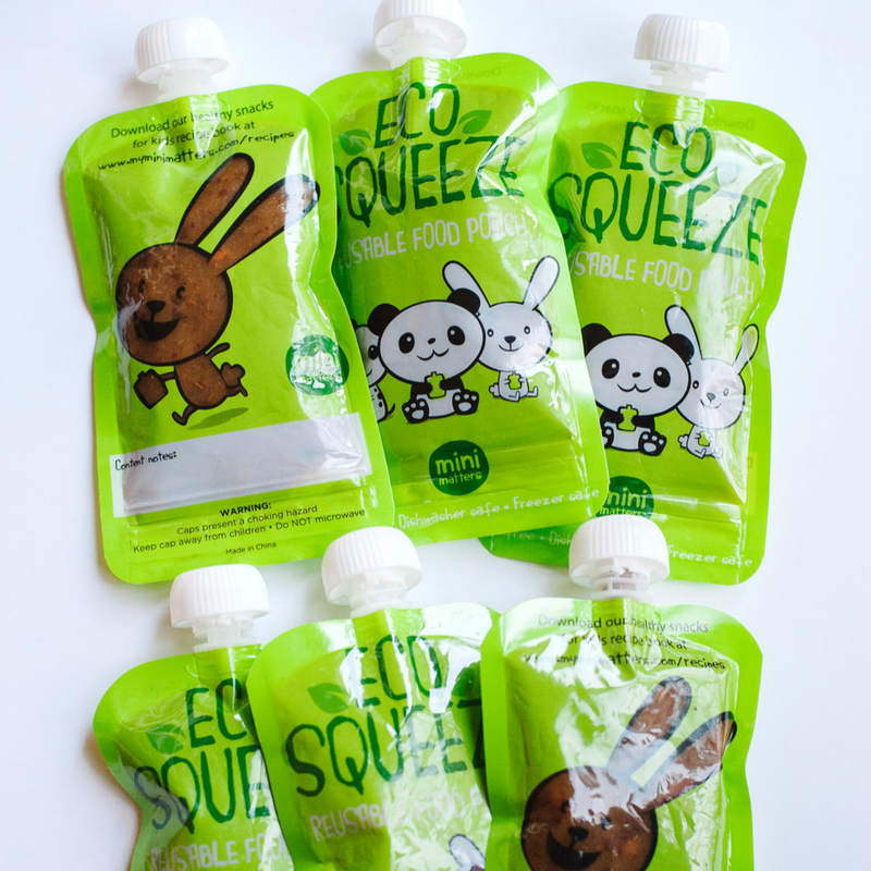 How to Make Reusable Food Pouches with Homemade Baby Food