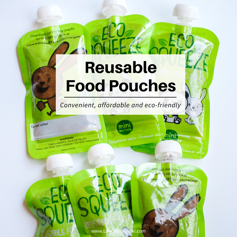 How to Make Reusable Food Pouches with Homemade Baby Food | Food pouches for babies, food pouches diy, food pouches recipes, food pouches for toddlers
