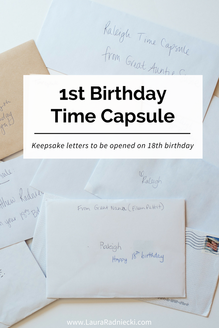 Time Capsule for Baby's First Birthday   Memory Keeping for Baby's 1st Birthday   Time Capsule Birthday, Time Capsule First Birthday, What to put in time capsule