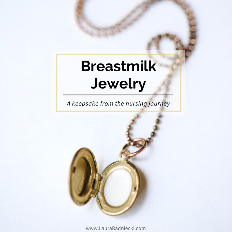 A Token of Our Journey | Keepsake Breastmilk Jewelry by Hollyday Designs | Keepsake Breastmilk Necklace
