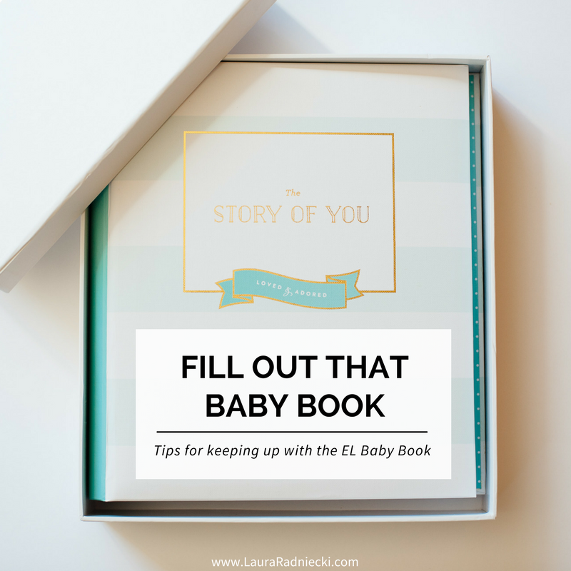 Raleigh's Baby Book - Emily Ley Baby Book - EL Baby Book Review - Tips for Keeping Up With a Baby Book | Emily Ley Baby Book Review