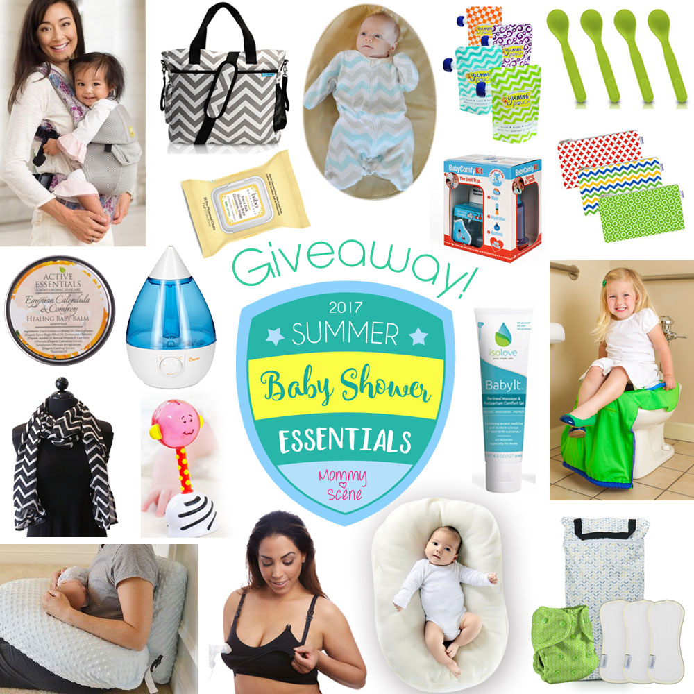 Baby Shower Essentials | Mommy Scene Giveaway