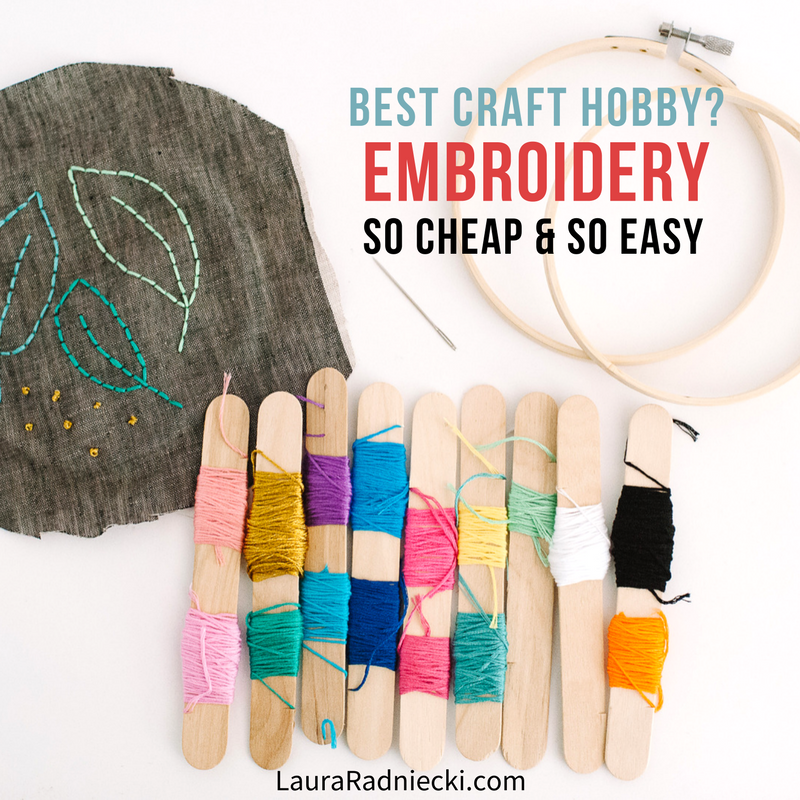 Embroidery is the Ideal New Craft Hobby - New Hobby Ideas