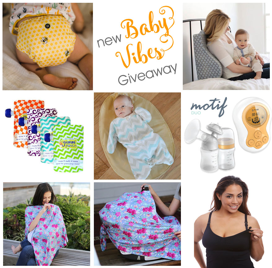 New Baby Vibes | Mommy Scene Giveaway | Make the Infant Days Easier