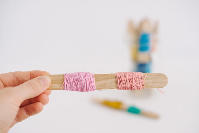 How to store embroidery floss without tangles | Embroidery thread storage idea | Store Embroidery Thread