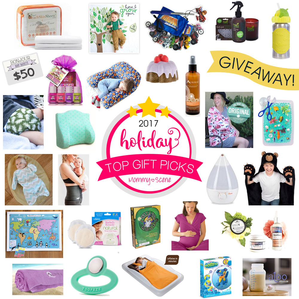 Holiday Gift Guide Giveaway with Mommy Scene