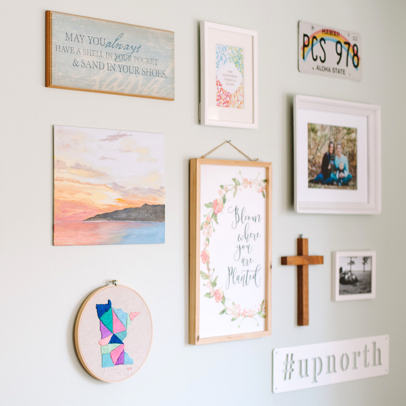 6 Tips for a Killer Gallery Wall | With Home Decor from Campfire Bay