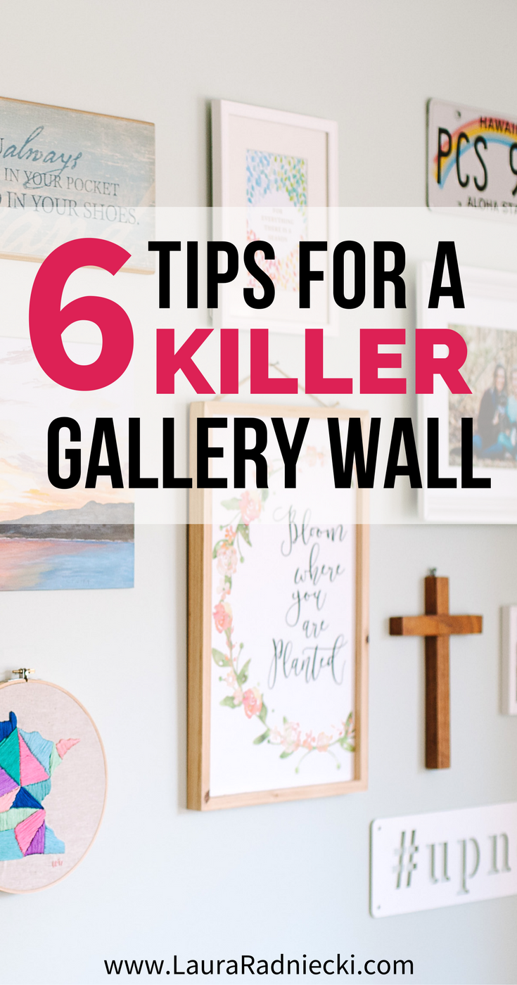 6 Tips for a Killer Gallery Wall - Featuring Campfire Bay