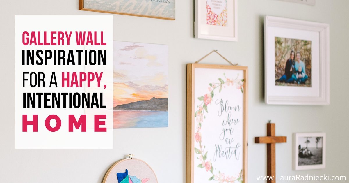 Gallery Wall Inspiration for a Happy, Intentional Home