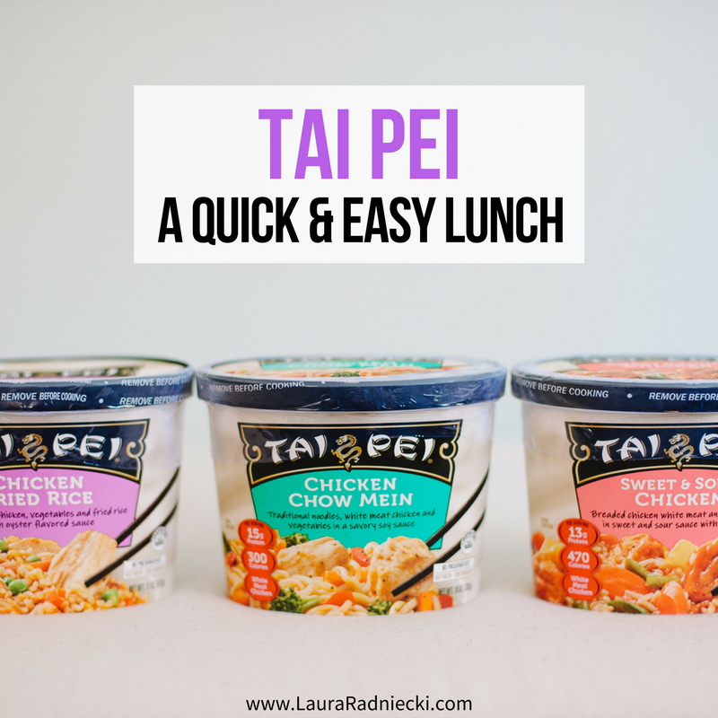 Quick and Easy Lunch with Tai Pei Asian Foods