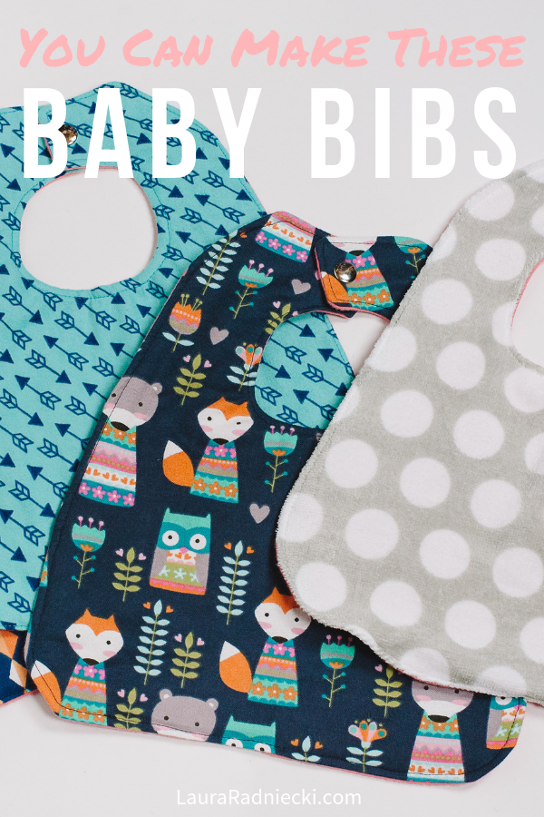 Baby Bib Tutorial _ How to Make a Baby Bib _ Easy Baby Bib _ How to Sew a Baby Bib