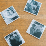 Photo Coasters with Mod Podge