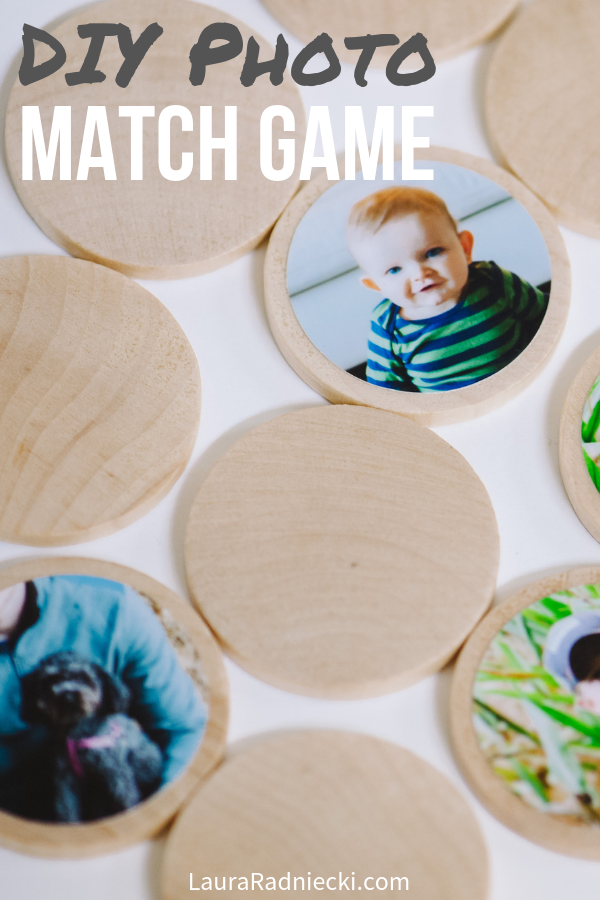 How to Make a DIY Photo Memory Match Game