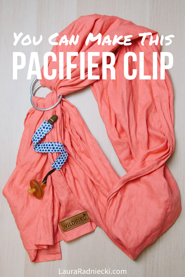How to Make a Pacifier Clip
