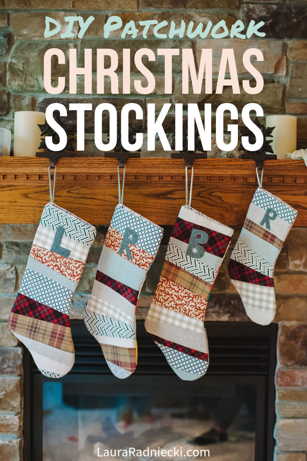 How to Make a Patchwork Christmas Stocking _ A DIY Stocking Tutorial for Christmas