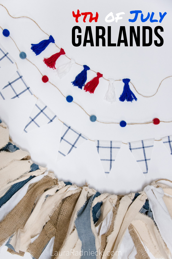 Fourth of July Garland Ideas for the Perfect Patriotic 4th of July Holiday
