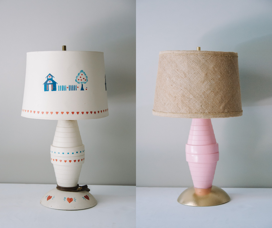 Easy Upcycle Ideas with the ReStore _ DIY Lamp Makeover Project with Laura Radniecki