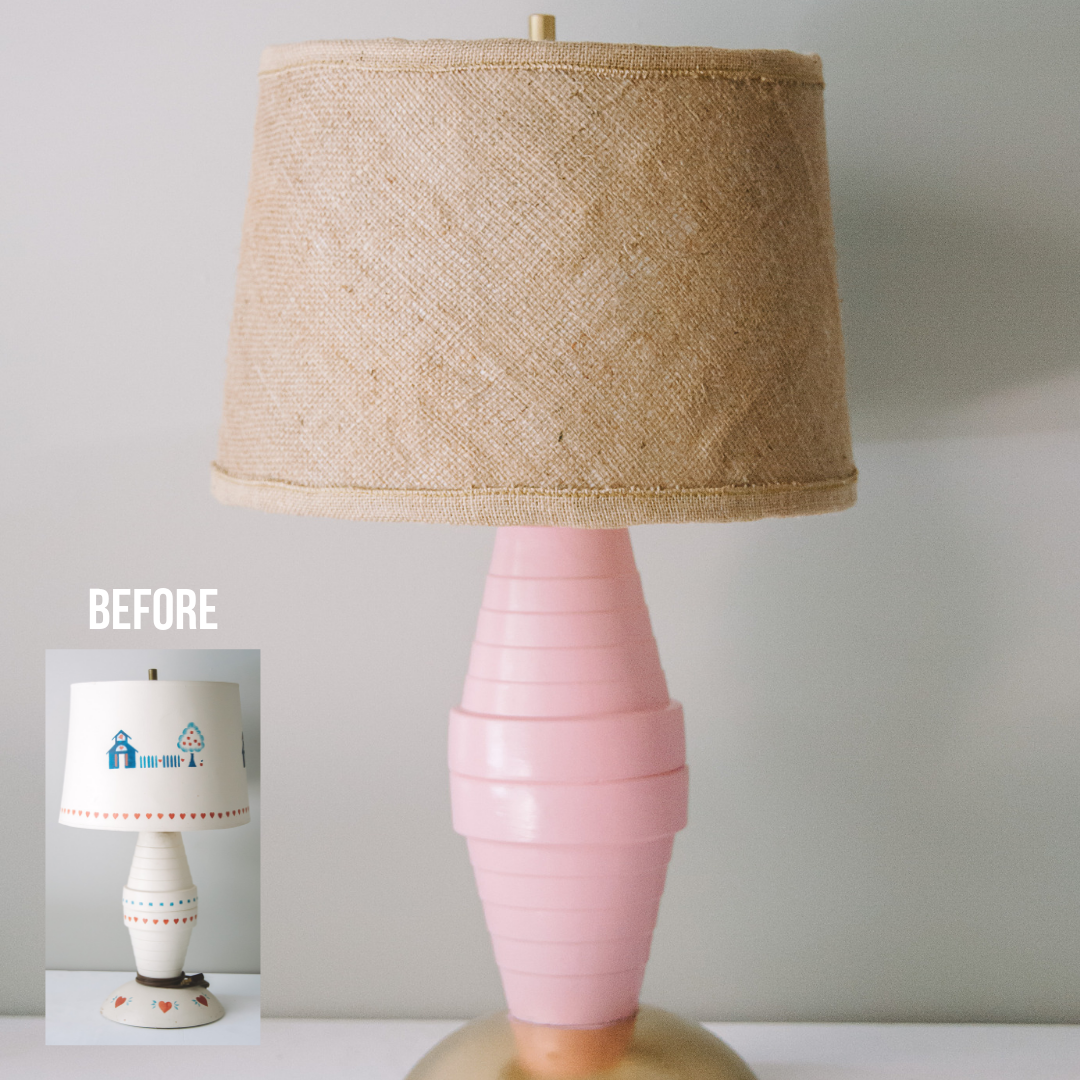 DIY Lamp Makeover | Easy Upcycle Ideas with the ReStore