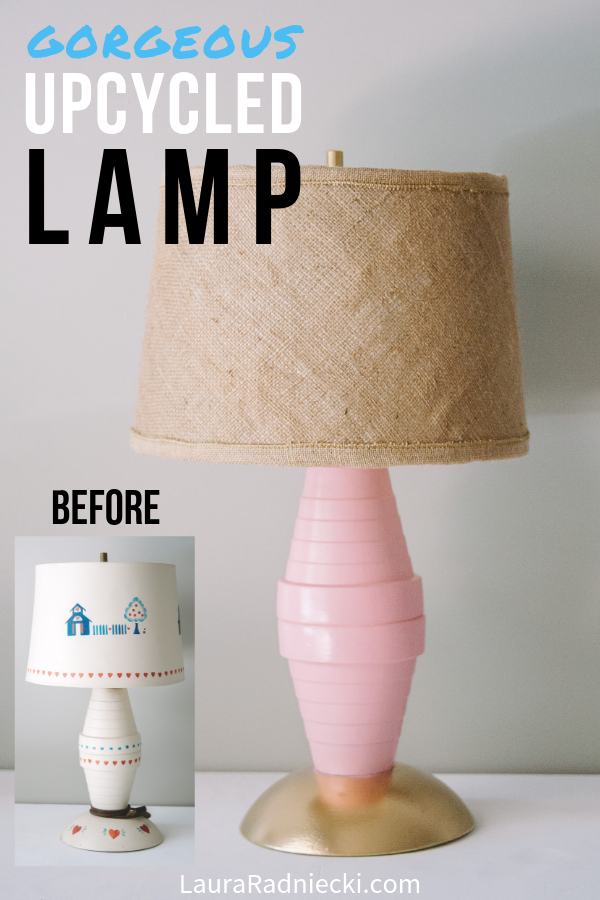 Easy Upcycle Ideas with the ReStore _ DIY Lamp Makeover
