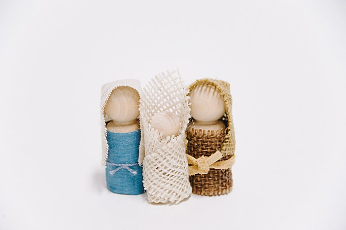how to make diy holy family nativity set