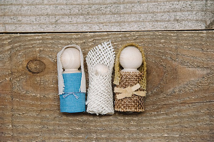 diy mary, baby jesus and joseph
