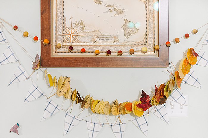 fall garlands for home decor