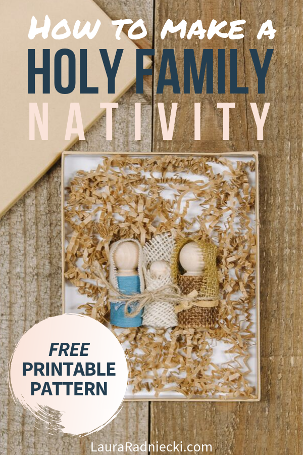 DIY Holy Family Nativity _ How to Make Jesus, Mary and Joseph