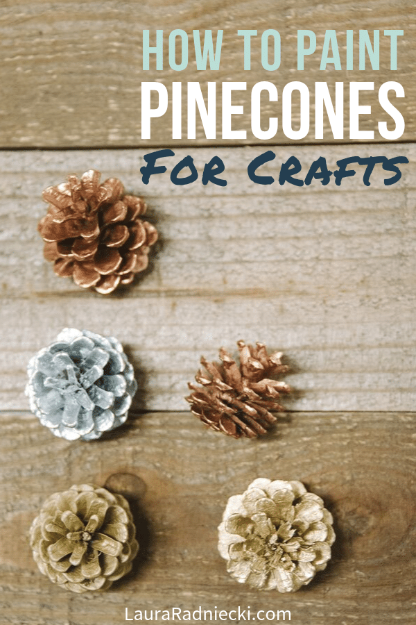 How to Paint Pinecones for Crafts and Decorations