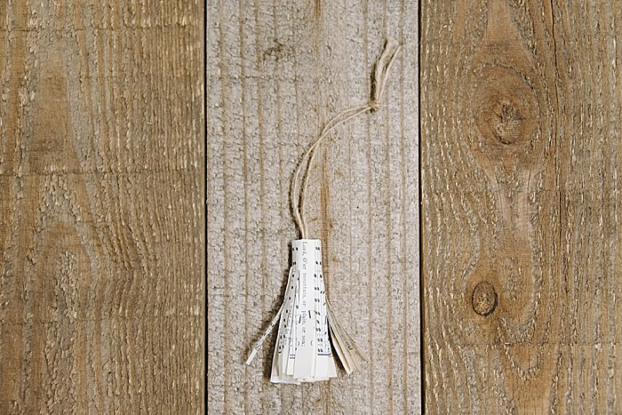 How to Make a DIY Book Page Tassel Ornament