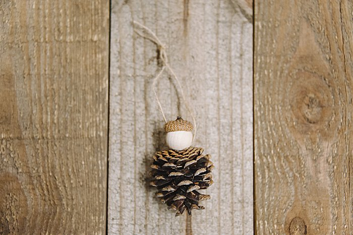 Day 10: How to Make a Pine Cone Ornament | The 30 Days of Ornaments Project | Pine cone people