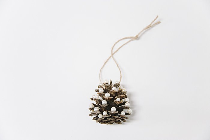 Day 20: How to Make a Pine Cone Christmas Tree Ornament | The 30 Days of Ornaments Project