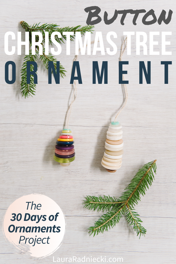 Day 25_ How to Make a Button Christmas Tree Ornament _ The 30 Days of Ornaments Project (1)