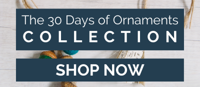 The 30 Days of Ornaments Collection | Christmas Ornament Step by Step Tutorials