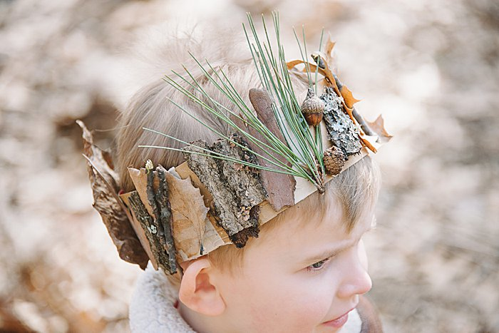 How to Make a DIY Nature Crown for Kids | Easy Nature Activities for Kids