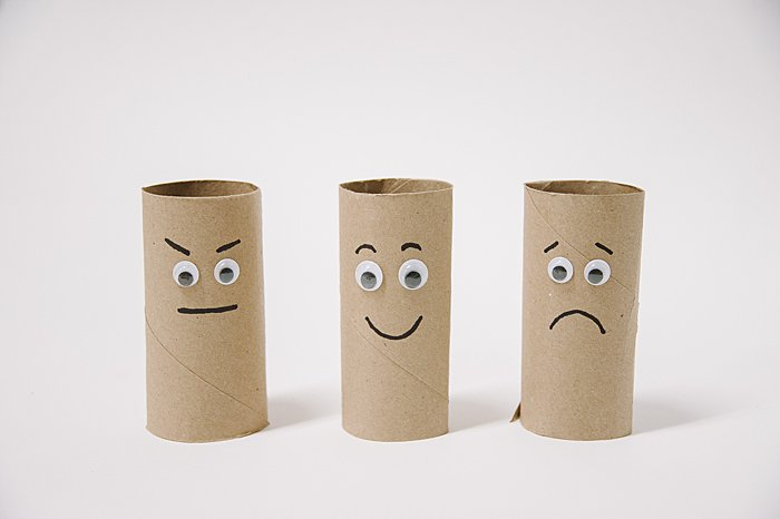 DIY Toilet Paper Roll Emotion Buddies | Feelings Activities for Kids