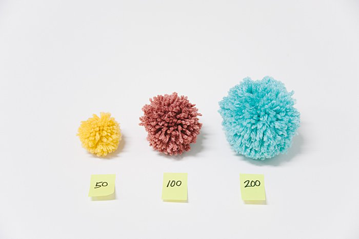 How to Make Yarn Pom Poms By Hand, Without a Pom Pom Maker