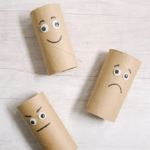 DIY Toilet Paper Roll Emotion Buddies _ Feelings Activities for Kids