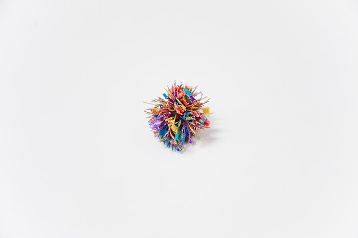 decorative yarn pom pom