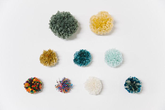 what's the best type of yarn to use when making diy yarn pom poms