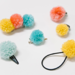 DIY Pom Pom Accessories _ How to Make Pom Pom Hair Clips & Rings