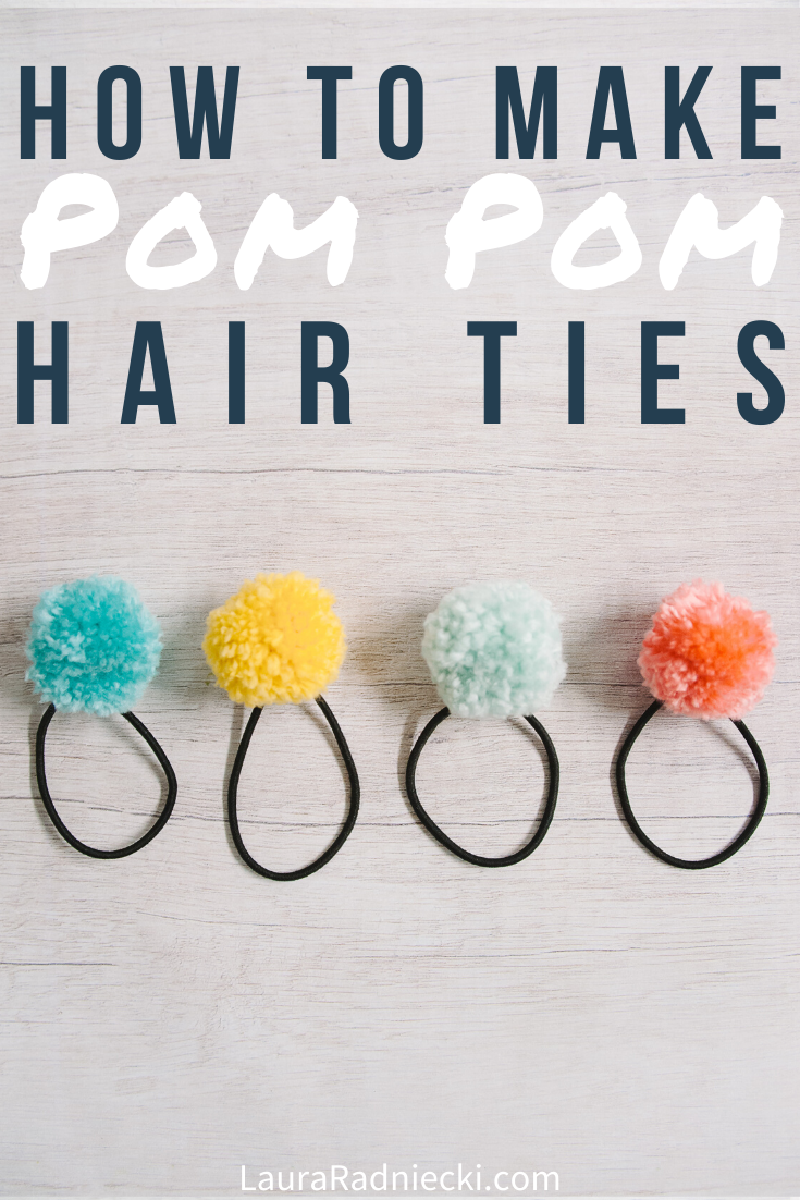 DIY Pom Pom Accessories | How to Make Pom Pom Hair Clips & Rings