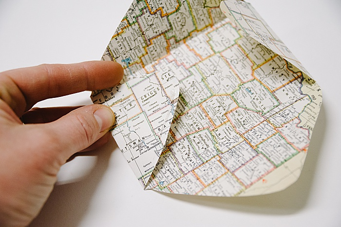 handmade paper envelope to use in wrapping gifts