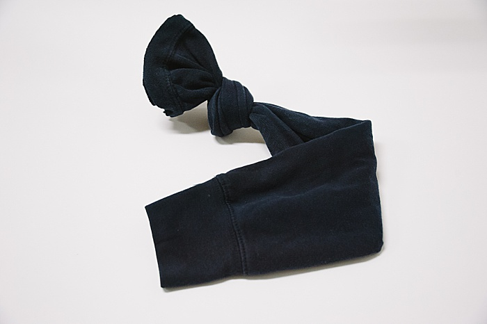 tie a knot in the end of a sleeve from a shirt, or use a tall sock as a diy heating pad.